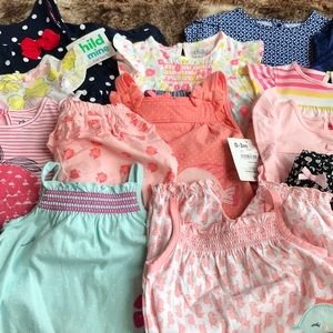 0-3 Month Clothing Lot Set  (16 pieces) NWOT